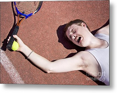 Tennis Elbow Metal Print by Jorgo Photography - Wall Art Gallery
