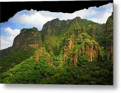 Tepozteco Metal Print by Skip Hunt