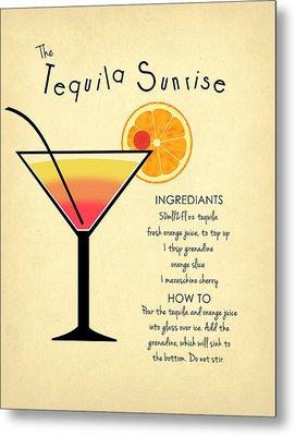 Tequila Sunrise Metal Print by Mark Rogan