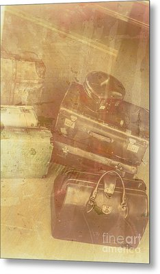 Terminal Goodbye Metal Print by Jorgo Photography - Wall Art Gallery