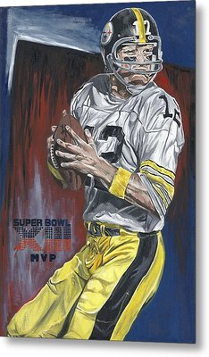Terry Bradshaw Xiii Mvp Metal Print by David Courson