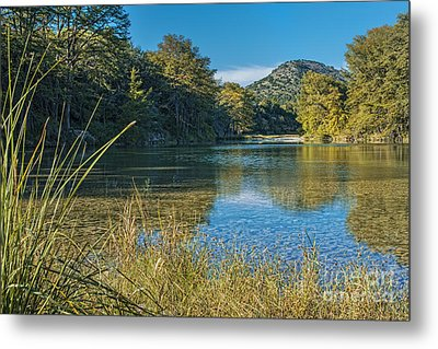 Texas Hill Country - The Frio River Metal Print by Andre Babiak