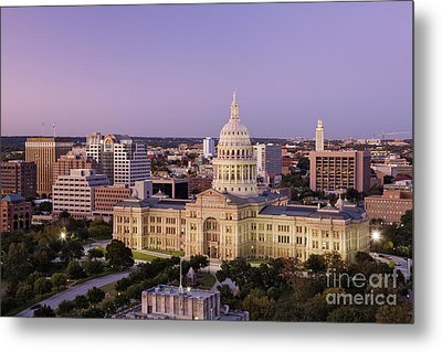 Texas State Capitol Metal Print by Jeremy Woodhouse