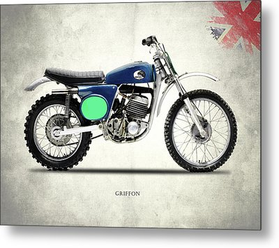 The 1969 Griffon Metal Print by Mark Rogan