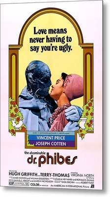 The Abominable Dr. Phibes, From Left Metal Print by Everett
