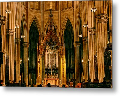 The Altar Of St. Patrick's Cathedral Metal Print by Jessica Jenney