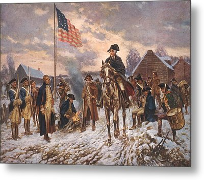 The American Revolution, George Metal Print by Everett