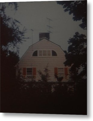 The Amityville Horror Metal Print by Rob Hans