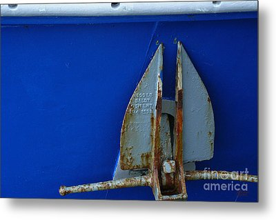 The Anchor Metal Print by Jeff Breiman
