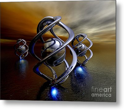 The Ancient Ones Metal Print by Alexander Butler