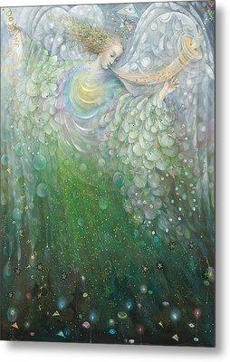 The Angel Of Growth Metal Print by Annael Anelia Pavlova