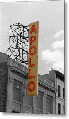 The Apollo In Harlem Metal Print by Danny Thomas