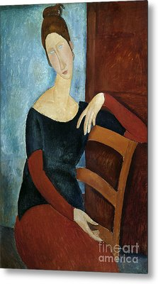 The Artist's Wife Metal Print by Amedeo Modigliani