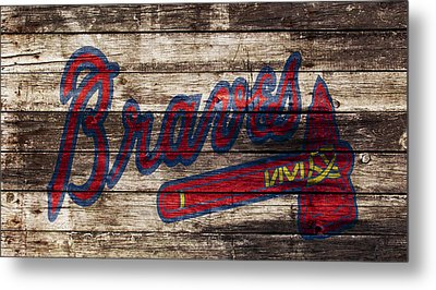 The Atlanta Braves 1w Metal Print by Brian Reaves
