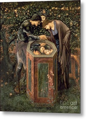 The Baleful Head Metal Print by Sir Edward Burne-Jones