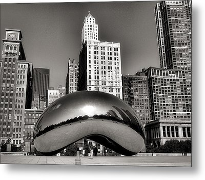 The Bean - 3 Metal Print by Ely Arsha