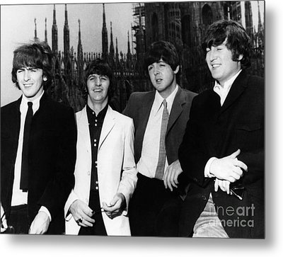 The Beatles, 1960s Metal Print by Granger