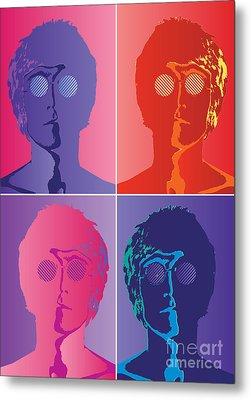 The Beatles No.10 Metal Print by Caio Caldas