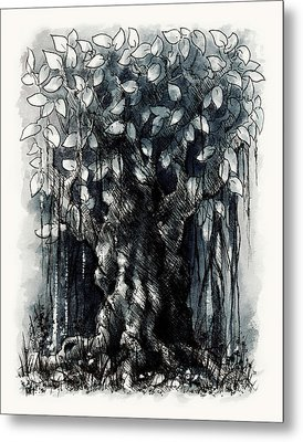 The Beautiful Tree Metal Print by Rachel Christine Nowicki