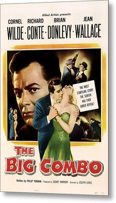 The Big Combo 1955 Metal Print by Mountain Dreams