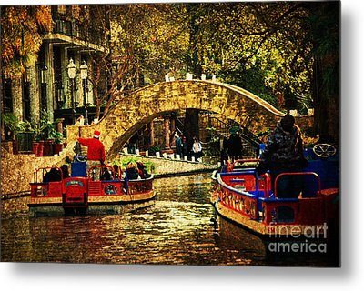 The Boats Metal Print by Iris Greenwell