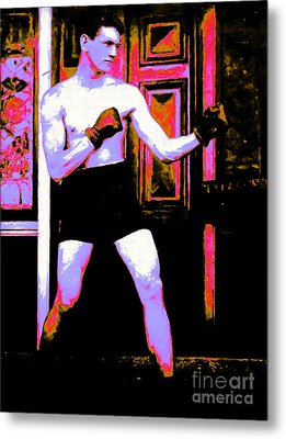 The Boxer - 20130207 Metal Print by Wingsdomain Art and Photography