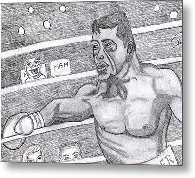 the Boxer Metal Print by Richard Heyman