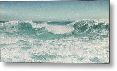 The Breaking Wave Metal Print by Celestial Images