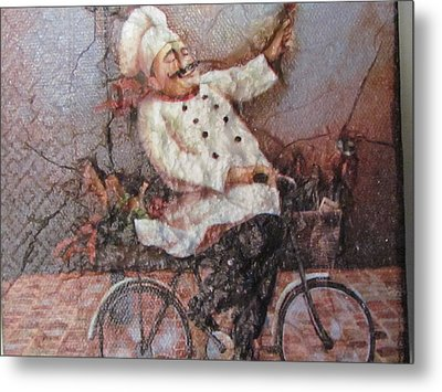 Baked Fresh Daily Metal Print by Joyce Woodhouse