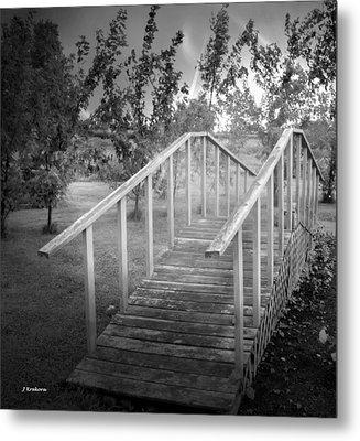 The Bridge 2 Metal Print by John Krakora