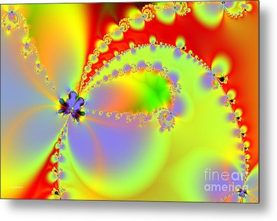 The Butterfly Effect . Summer Metal Print by Wingsdomain Art and Photography