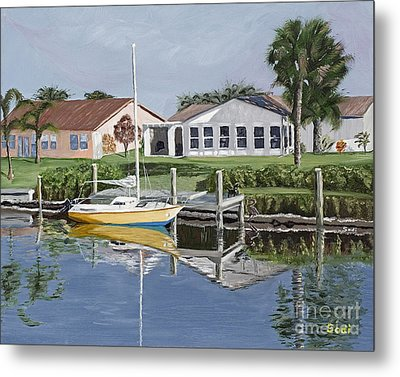 The Canal Awakens Metal Print by Sodi Griffin