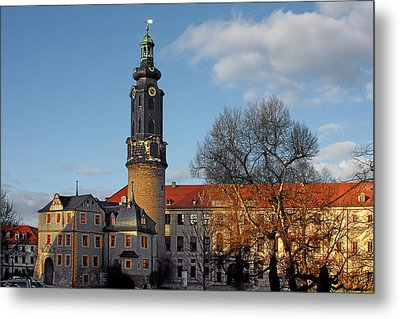 The Castle - Weimar - Thuringia - Germany Metal Print by Christine Till