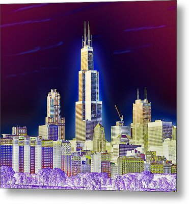The Center Of Attention 2 Metal Print by Donald Schwartz