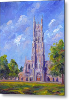 The Chapel At Duke University Metal Print by Jeff Pittman