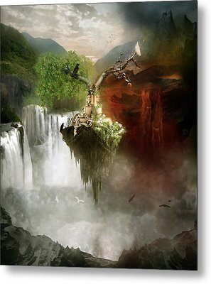The Choice Metal Print by Mary Hood