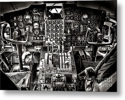The Cockpit Metal Print by Olivier Le Queinec