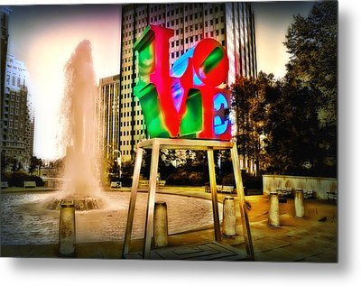 The Color Of Love Metal Print by Bill Cannon