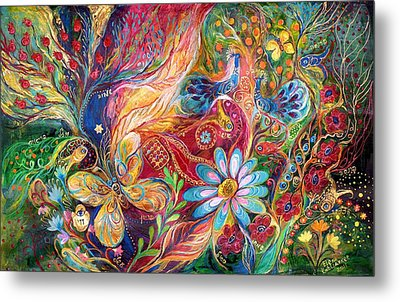 The Colors Of Spring. The Original Can Be Purchased Directly From Www.elenakotliarker.com Metal Print by Elena Kotliarker