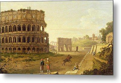 The Colosseum Metal Print by John Inigo Richards