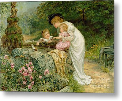 The Coming Nelson Metal Print by Frederick Morgan
