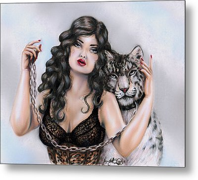 The Coming Of Cool Air Metal Print by Scarlett Royal