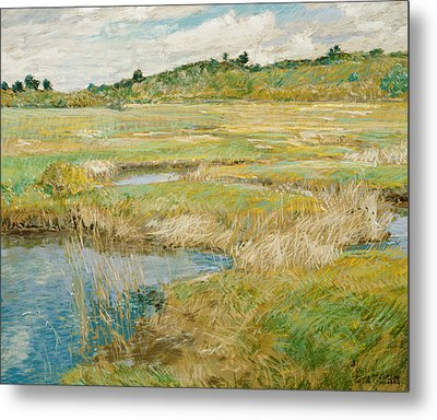 The Concord Meadow Metal Print by Childe Hassam