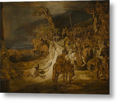 The Concord Of The State Metal Print by Rembrandt