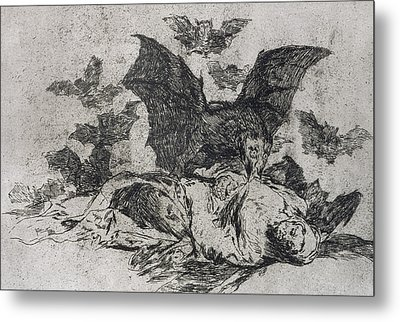 The Consequences Metal Print by Goya