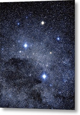 The Constellation Of The Southern Cross Metal Print by Luke Dodd