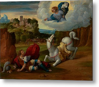 The Conversion Of Saint Paul Metal Print by Mountain Dreams