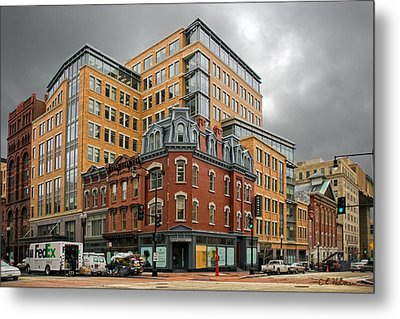 The Corner Metal Print by Christopher Holmes