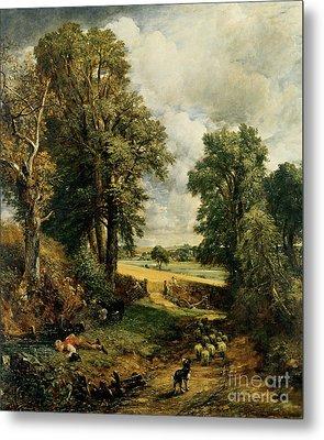 The Cornfield Metal Print by John Constable