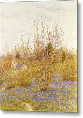 The Cuckoo Metal Print by Helen Allingham
